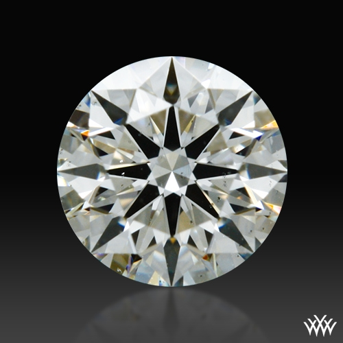 0.326 ct I SI1 A CUT ABOVE® Hearts and Arrows Super Ideal Round Cut Loose Diamond