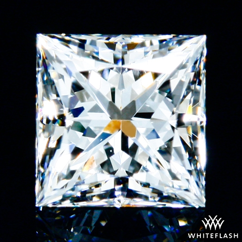 0.628 ct G VS2 A CUT ABOVE® Princess Super Ideal Cut Diamond
