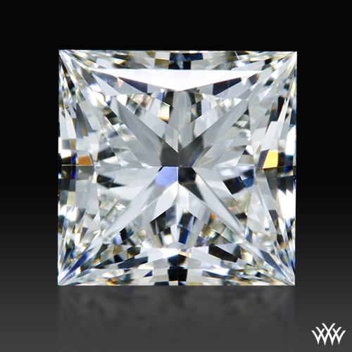 1.013 ct J SI1 A CUT ABOVE® Princess Super Ideal Cut Diamond