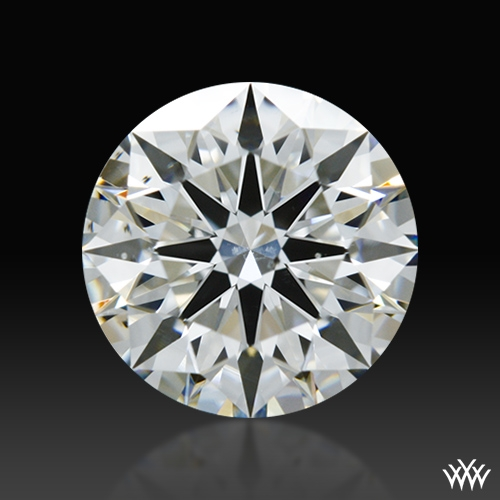 0.854 ct F VS2 A CUT ABOVE® Hearts and Arrows Super Ideal Round Cut Loose Diamond