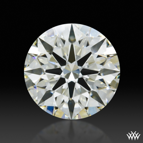0.761 ct J SI1 A CUT ABOVE® Hearts and Arrows Super Ideal Round Cut Loose Diamond