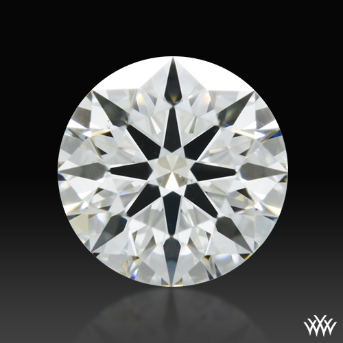 0.458 ct J VS2 A CUT ABOVE® Hearts and Arrows Super Ideal Round Cut Loose Diamond