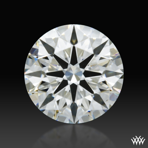 0.745 ct I VS2 A CUT ABOVE® Hearts and Arrows Super Ideal Round Cut Loose Diamond