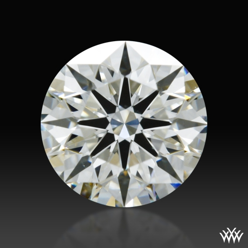 0.715 ct J VS2 A CUT ABOVE® Hearts and Arrows Super Ideal Round Cut Loose Diamond