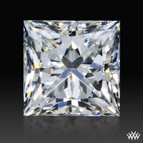 1.024 ct H SI1 A CUT ABOVE® Princess Super Ideal Cut Diamond