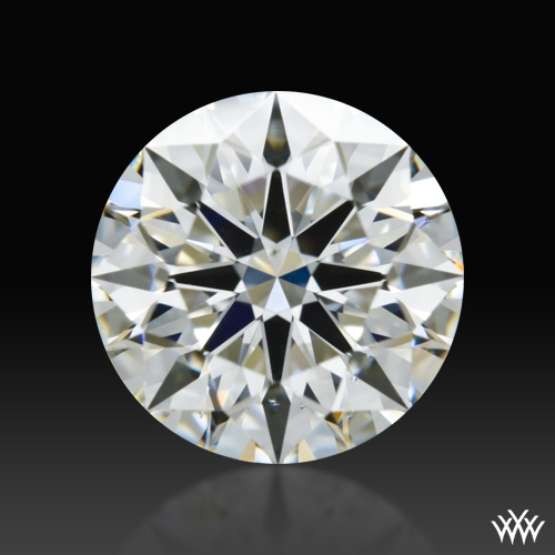 1.137 ct H VS2 A CUT ABOVE® Hearts and Arrows Super Ideal Round Cut Loose Diamond
