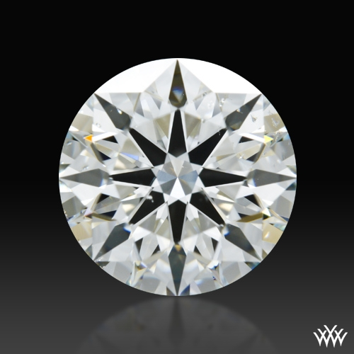 2.072 ct I SI1 A CUT ABOVE® Hearts and Arrows Super Ideal Round Cut Loose Diamond