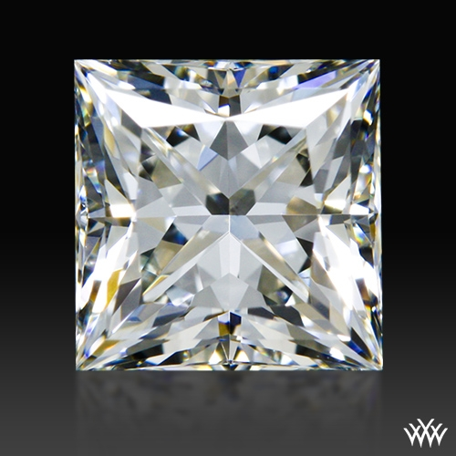 0.975 ct I VS2 A CUT ABOVE® Princess Super Ideal Cut Diamond