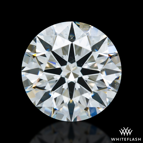 1.116 ct H VS2 A CUT ABOVE® Hearts and Arrows Super Ideal Round Cut Loose Diamond