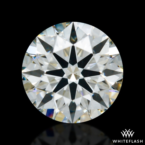 0.347 ct I SI1 A CUT ABOVE® Hearts and Arrows Super Ideal Round Cut Loose Diamond