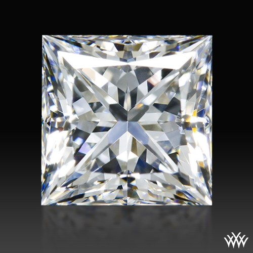 1.045 ct F VVS2 A CUT ABOVE® Princess Super Ideal Cut Diamond