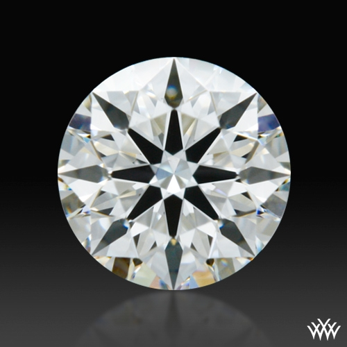 0.516 ct G VS2 A CUT ABOVE® Hearts and Arrows Super Ideal Round Cut Loose Diamond