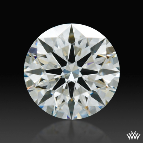 0.512 ct H VS2 A CUT ABOVE® Hearts and Arrows Super Ideal Round Cut Loose Diamond
