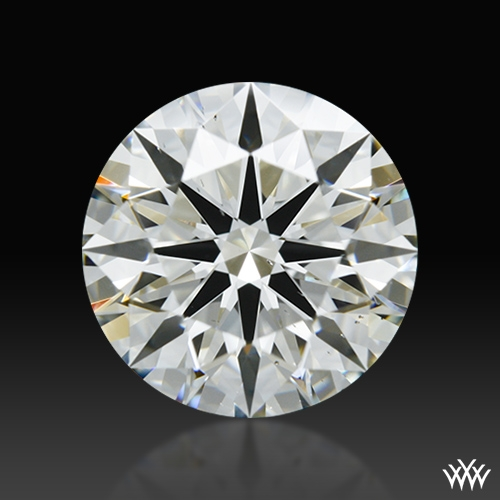 1.58 ct J VS2 A CUT ABOVE® Hearts and Arrows Super Ideal Round Cut Loose Diamond