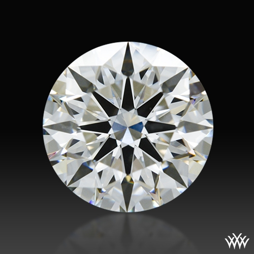 1.218 ct F VS2 A CUT ABOVE® Hearts and Arrows Super Ideal Round Cut Loose Diamond
