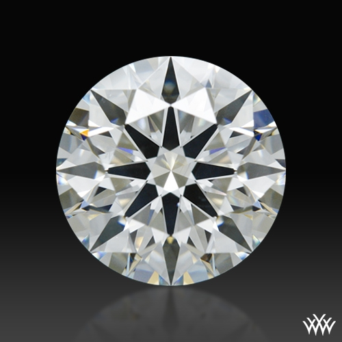 1.294 ct H SI1 A CUT ABOVE® Hearts and Arrows Super Ideal Round Cut Loose Diamond