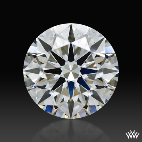 0.904 ct G SI1 A CUT ABOVE® Hearts and Arrows Super Ideal Round Cut Loose Diamond