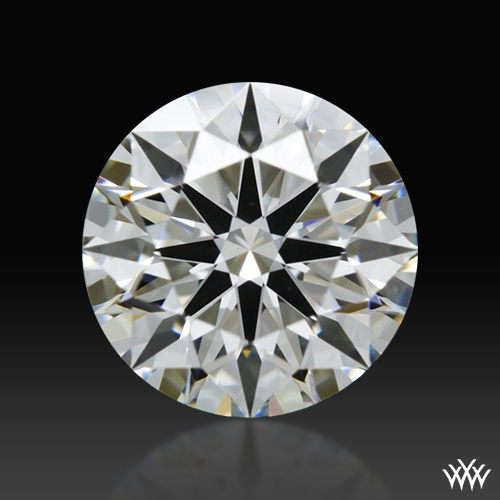0.703 ct H VS2 A CUT ABOVE® Hearts and Arrows Super Ideal Round Cut Loose Diamond