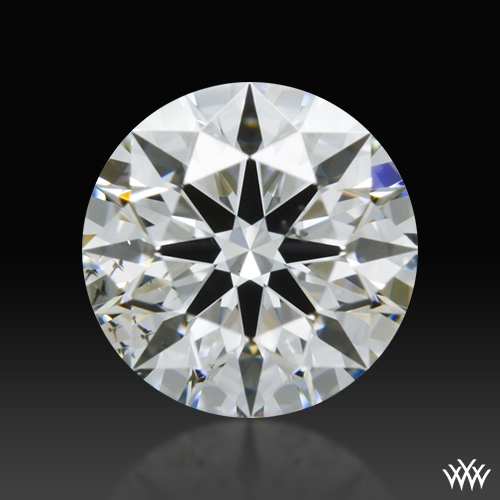 0.507 ct G SI1 A CUT ABOVE® Hearts and Arrows Super Ideal Round Cut Loose Diamond