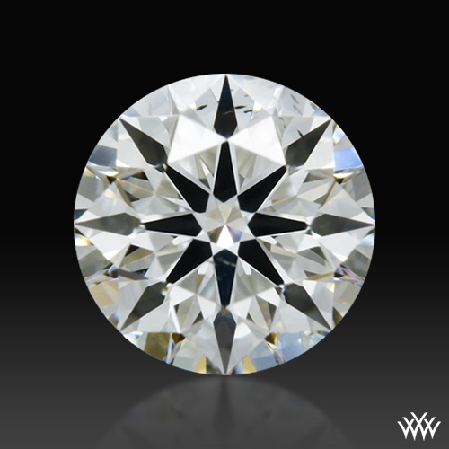 0.314 ct H SI1 A CUT ABOVE® Hearts and Arrows Super Ideal Round Cut Loose Diamond