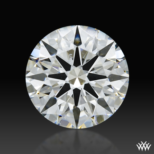 1.616 ct G SI1 A CUT ABOVE® Hearts and Arrows Super Ideal Round Cut Loose Diamond