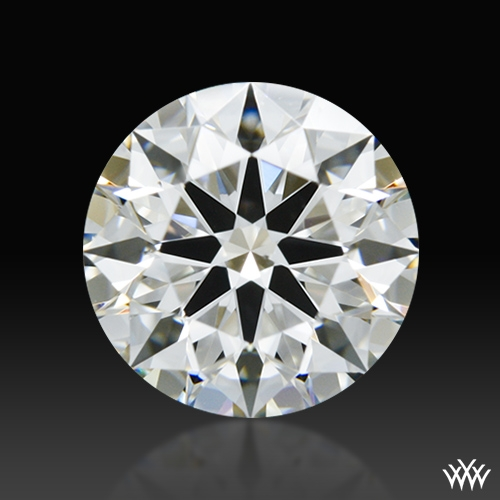 1.246 ct G VS2 A CUT ABOVE® Hearts and Arrows Super Ideal Round Cut Loose Diamond