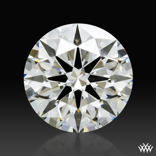 0.615 ct I SI1 A CUT ABOVE® Hearts and Arrows Super Ideal Round Cut Loose Diamond