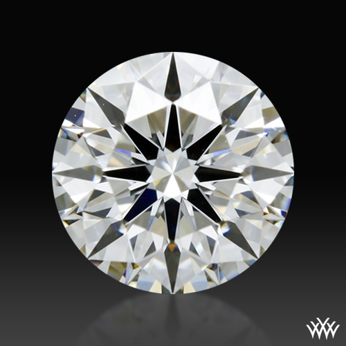 0.762 ct G VS1 A CUT ABOVE® Hearts and Arrows Super Ideal Round Cut Loose Diamond