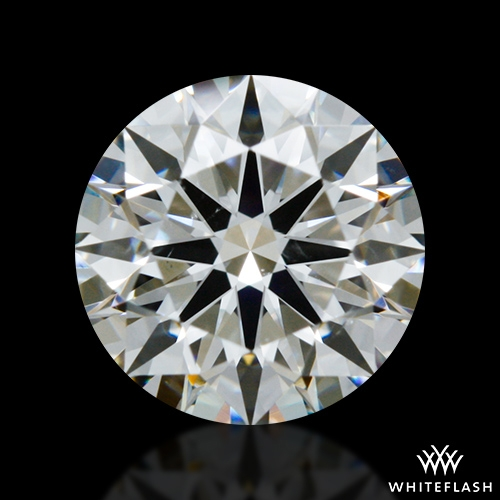 0.812 ct G SI1 A CUT ABOVE® Hearts and Arrows Super Ideal Round Cut Loose Diamond