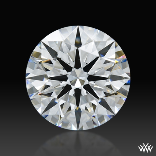 1.105 ct D VS2 A CUT ABOVE® Hearts and Arrows Super Ideal Round Cut Loose Diamond