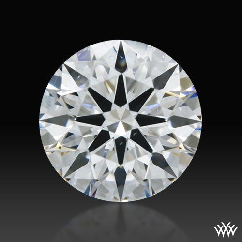 0.405 ct D VS2 A CUT ABOVE® Hearts and Arrows Super Ideal Round Cut Loose Diamond
