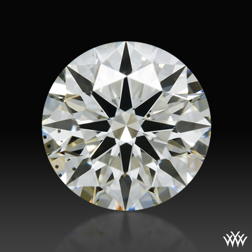 0.515 ct K VS2 A CUT ABOVE® Hearts and Arrows Super Ideal Round Cut Loose Diamond