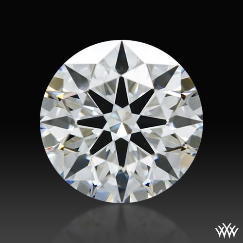 1.196 ct F VS1 A CUT ABOVE® Hearts and Arrows Super Ideal Round Cut Loose Diamond
