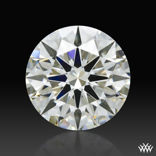 1.066 ct K VS2 A CUT ABOVE® Hearts and Arrows Super Ideal Round Cut Loose Diamond
