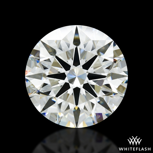 2.612 ct I SI1 A CUT ABOVE® Hearts and Arrows Super Ideal Round Cut Loose Diamond