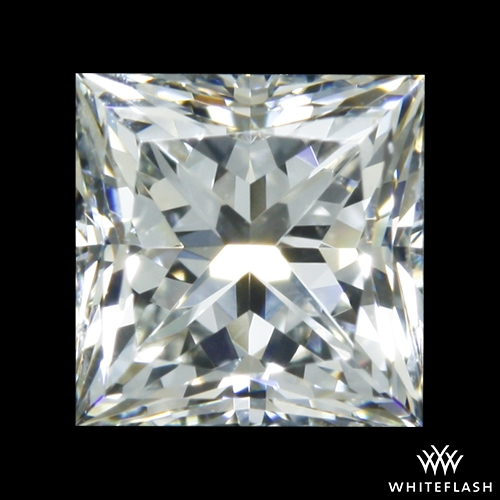 0.538 ct H VS2 A CUT ABOVE® Princess Super Ideal Cut Diamond