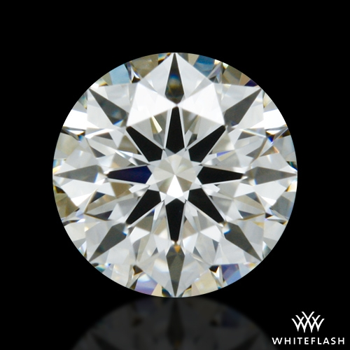 0.401 ct J VS2 A CUT ABOVE® Hearts and Arrows Super Ideal Round Cut Loose Diamond