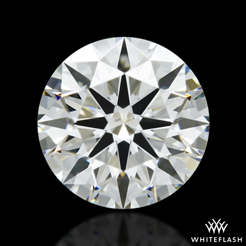 0.885 ct I VS2 A CUT ABOVE® Hearts and Arrows Super Ideal Round Cut Loose Diamond