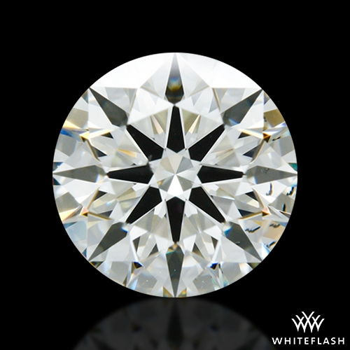 1.03 ct K SI1 A CUT ABOVE® Hearts and Arrows Super Ideal Round Cut Loose Diamond