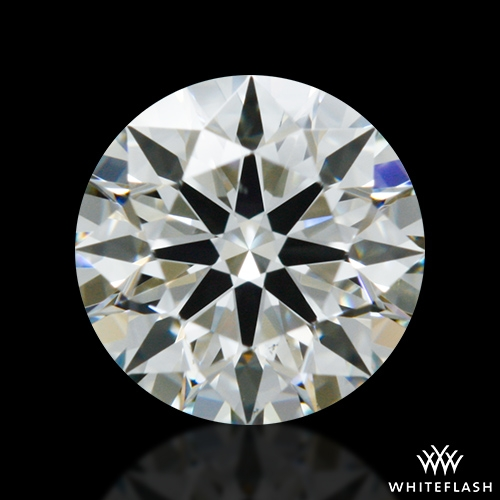0.52 ct J VS2 A CUT ABOVE® Hearts and Arrows Super Ideal Round Cut Loose Diamond
