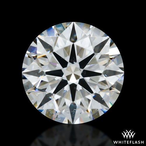 0.607 ct F SI1 A CUT ABOVE® Hearts and Arrows Super Ideal Round Cut Loose Diamond