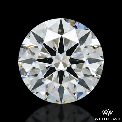 0.951 ct G VS2 A CUT ABOVE® Hearts and Arrows Super Ideal Round Cut Loose Diamond