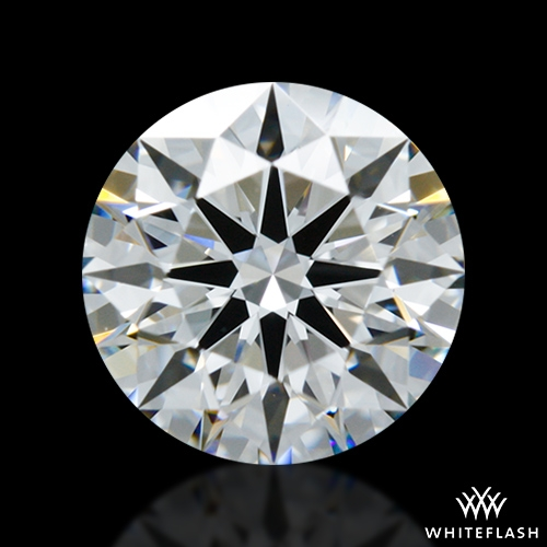 0.988 ct F VS1 A CUT ABOVE® Hearts and Arrows Super Ideal Round Cut Loose Diamond