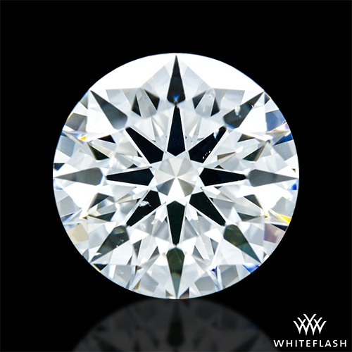 1.865 ct G SI1 A CUT ABOVE® Hearts and Arrows Super Ideal Round Cut Loose Diamond