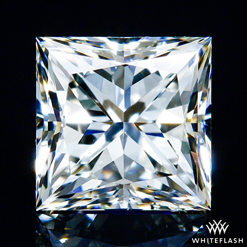 0.504 ct J VS1 A CUT ABOVE® Princess Super Ideal Cut Diamond
