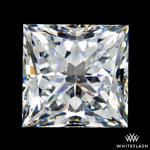 1.533 ct F VS2 A CUT ABOVE® Princess Super Ideal Cut Diamond