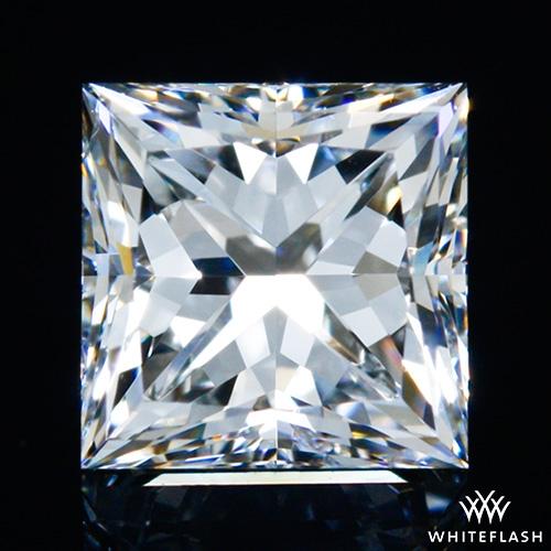 0.712 ct H SI1 A CUT ABOVE® Princess Super Ideal Cut Diamond