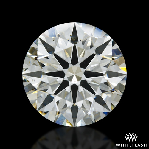 1.62 ct J SI1 A CUT ABOVE® Hearts and Arrows Super Ideal Round Cut Loose Diamond