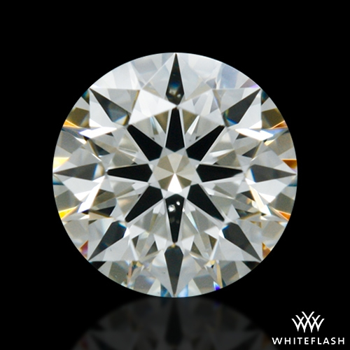 0.306 ct J VS2 A CUT ABOVE® Hearts and Arrows Super Ideal Round Cut Loose Diamond