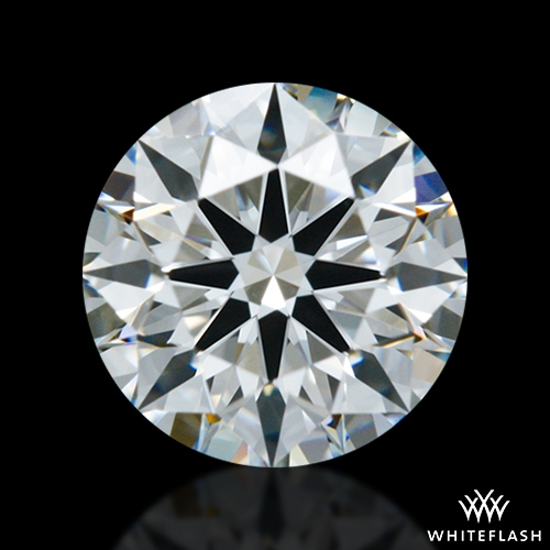 0.61 ct F VS1 A CUT ABOVE® Hearts and Arrows Super Ideal Round Cut Loose Diamond